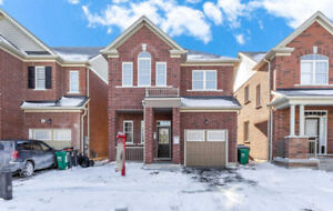 Gorgeous Detached House With 4 Spacious Bedrooms & 3 Baths