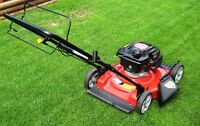 Yard Works self propelled 22 inch Mulch Mower Like New