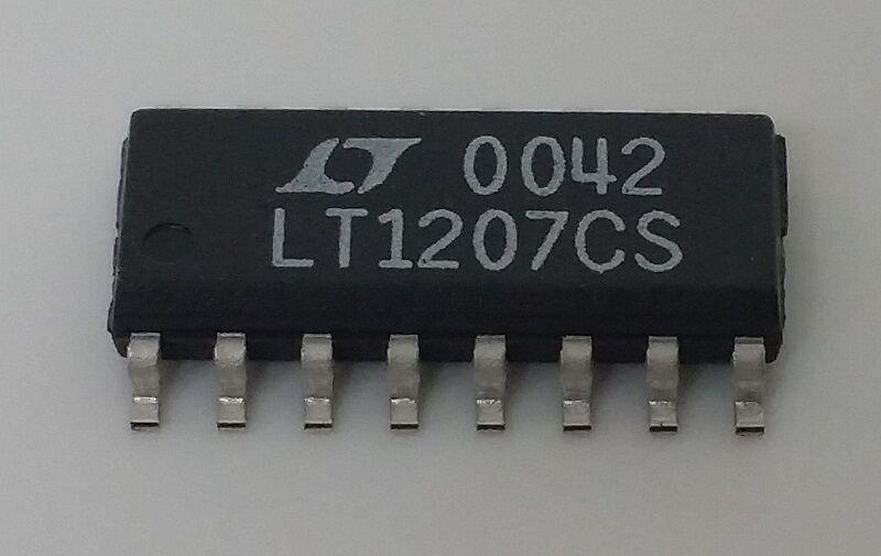 LT1207CS Surface Mount IC Op Amp Linear Technology (5) Lot
