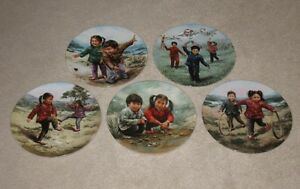 Bradfors's Chinese Children's Games Plate Series by Kee Fung Ng