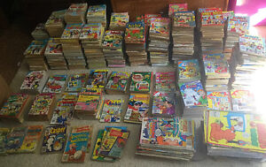 Over 900 hundred comic books