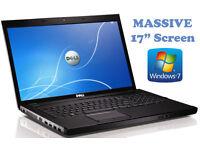 """May Deliver - Dell Laptop MASSIVE 17"""" Widescreen - Intel Core2Duo 5.2GHz - Intel GFX - 750Gb"""