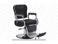 NEW HEAVY DUTY BLACK BARBER CHAIR BX-2902,CASH ON COLLECTION ONLY