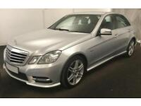 2012 SILVER MERCEDES E250 2.1 CDI SPORT DIESEL AUTO SALOON CAR FINANCE FRM 41 PW