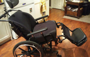 Invocare Tilting Wheelchair