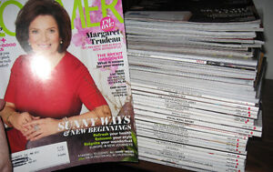 large lot of Zoomer magazines Mixed years,Margaret Trudeau ++