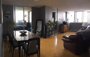 Room for Rent in Large Top Floor 2-Bedroom Apt. FOR FEMALE