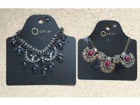 2 Brand New Necklaces