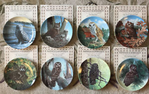 "Collectors Plates ""The Stately Owls"""