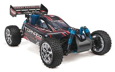 - 1:10 Tornado S30 RC Nitro Buggy 4WD Off Road Remote Control 2.4GHz Red New
