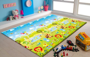 Large (5ft 10inches x 6 ft 6 inches) kids playmat