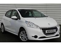 Peugeot 208 Access+ 1.2 VTi Petrol Manual White 5 dr Hatchback