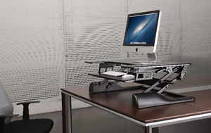 DAYTONA Ergonomic Adjustable Sit/Stand Workstation