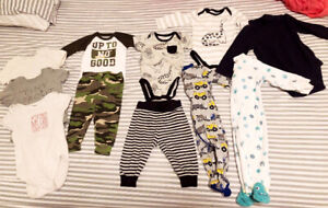 3-6 months baby boy clothes Lot only $15 for all