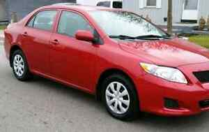 2010 TOYOTA COROLLA CE IN MINT CONDITION LIKE NEW FOR SALE