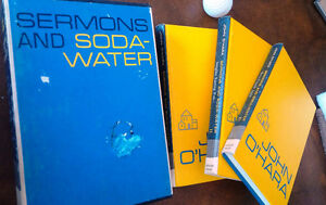 Sermons and Soda-Water, John O'Hara, 3 Book Set