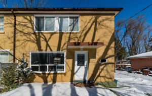 2-store 3+1 bedroom 2 bathroom house for rent in Richmond Hill