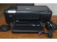 HP Deskjet Printer with instructions