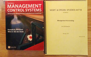 MOS 4471 Management Control Systems