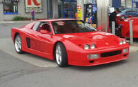 1992 Replica/Kit Makes up 512 TR  Ferrari Testarossa