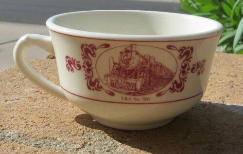 VINTAGE The New Georgia  Railroad CHINA - Dinnerware Coffee Cup - SHENANGO CHINA
