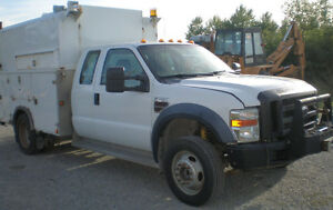 2008 FORD F450 Super Duty Service / Utility Truck, diesel, 4x4
