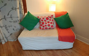 Divan lit/ Sofa bed IKEA LYCKSELE