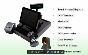 Point of Sale System POS Touch Screen  Digital Signage TV Menu
