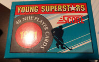 1991 Young Superstars Score 40 NHL Players card set