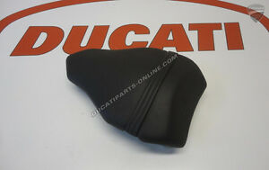 Ducati All 848,EVO 1098rs 1198sp Passenger Seat OEM rear back