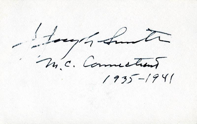 J. JOSEPH SMITH - SIGNATURE(S)