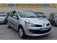 2007 (07) RENAULT CLIO DCI 1.5 DYNAMIQUE * TURBO DIESEL * FAMILY CAR * SILVER *