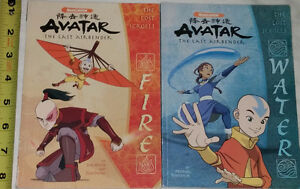 Avatar the Last Airbender - The Lost Scrolls - Fire & Water