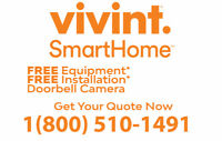 FREE INSTALLATION*  Vivint Home Security - Call 1800-510-1491