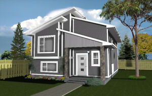 "GREAT STARTER HOME! BRAND NEW BUILD  IN ""THE VISTA"" SYLVAN LAKE"
