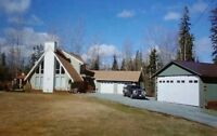 Country Living in City Limits 20.6 acres + A-Frame Home $369,900