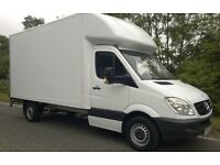 RELIABLE MAN AND VAN .LUTON VAN WITH TAIL LIFT FROM £35/HR. CHEAP REMOVAL SERVICES