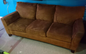 Couch and matching armchair - good condition