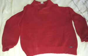 PULL-CHANDAIL SAINT JAMES SWEATER (100% laine / wool - France)