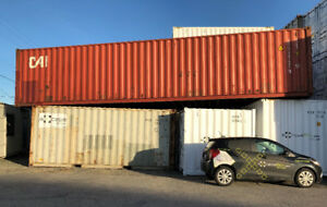 """STANDARD """"AXCESS"""" SHIPPING CONTAINER (USED)"""