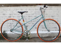 Single speed bike PEUGEOT frame 20inch built BY US NEW TYRES, DICTA 18T, CHAIN, BAR, GRIPS WARRANTY