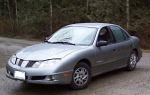 2004 pontiac sunfire  etested as is