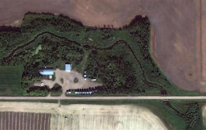 Family Acreage Located South of Melfort