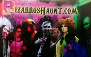 Volunteers wanted for a Charity Haunted Attraction