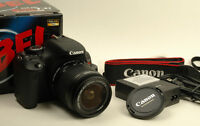 Canon EOS Rebel T3i DSLR Camera with 18-55mm f/3.5-5.6 IS II Len