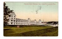 Carte postale ancienne Hôtel Tadousac à Tadousac, Qué.