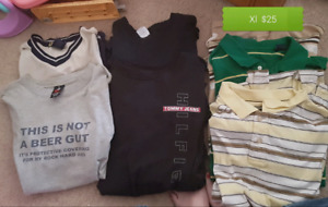 Men's xl clothing lots