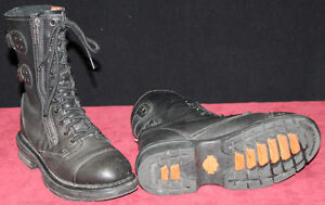 Womens Black Size 7 Harley Davidson Boots