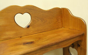 Handsome Country Styled Usefull Knotty Pine Shelf SEE VIDEO
