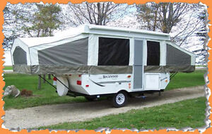 FOR RENT Tent Trailer